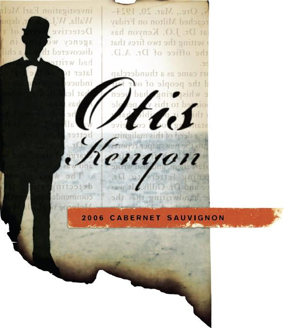 Otis Kenyon CabSauv label